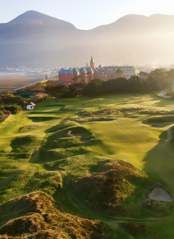 golf and tourist attractions Northern Ireland