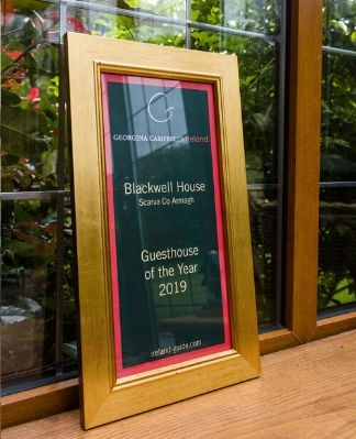 Guest House of the Year Award, Accommodation Award, Georgina Campbell