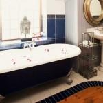 Relax in a long hot bubble bath